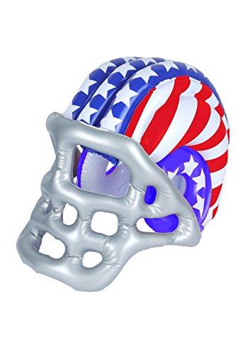 Aufblasbarer American Football Helm Hirsch-Kostüm USA NFL Super ()