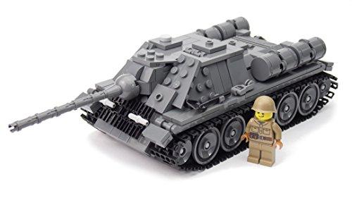 WW2 WWII Custom Tanque Carro de Combate Ruso SU-85
