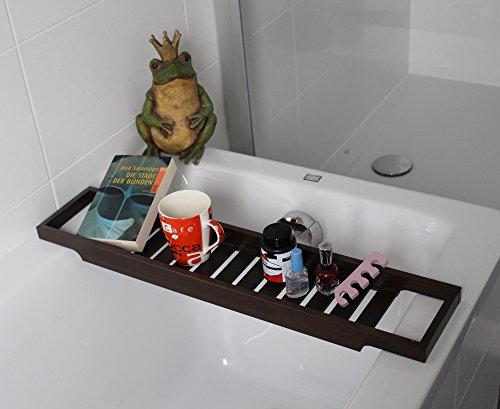 Ikea ripiano per la vasca da bagno mensola in legno per vasca