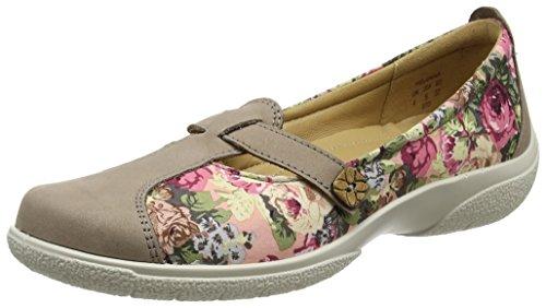 Mabel EXF, Zapatos de Cordones Oxford para Mujer, Gris (Grey Floral 111), 38 EU Hotter