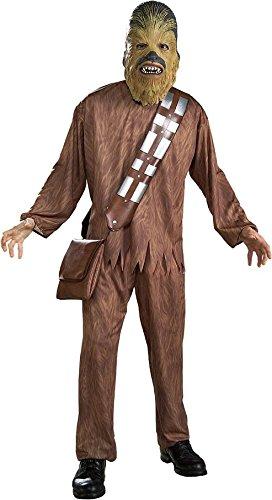 Chewbacca 'Star Wars' Kostüm für Herren Gr. STD-XL, (Halloween Chewbacca Kostüm)