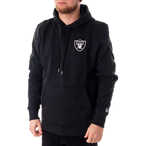 New Era Team Apparel NFL Sweater Herren Oakland Raiders Schwarz, Größe:XL