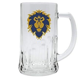 World of Warcraft Glas- Bierkrug Alliance