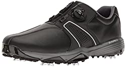 adidas Mens 360 Traxion Boa Cblack/FT Golf Shoe, Black, 7 M US