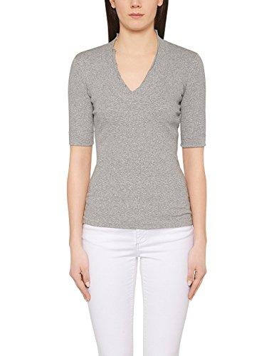 Marc Cain Essentials Damen T-Shirt +E4859J50 Grau (grey 820)