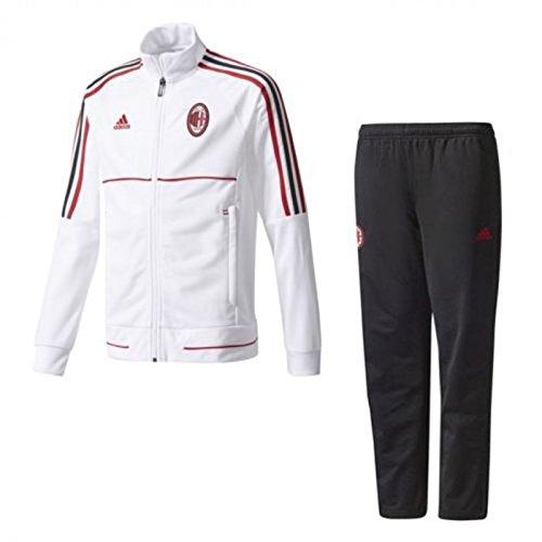 Adidas AC Milan Pes, Official Mens Suit Original 2017/18 WHITE/BLACK/RED (XL) Preisvergleich