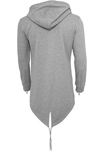 URBAN CLASSICS - Sweat Parka (grey) Grey