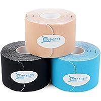 Kinesiologie Tape Vorgeschnittenes Elastisches Kinesiotapes 3 rollen, 5cm X 5m preisvergleich bei billige-tabletten.eu
