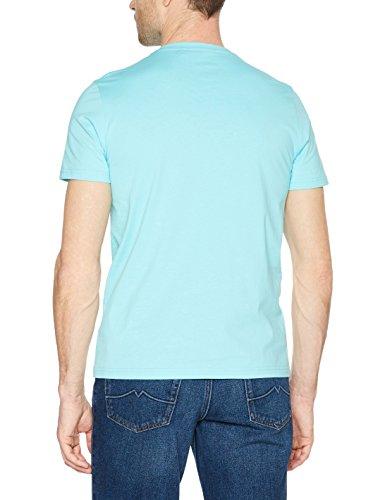 s.Oliver Herren T-Shirt Türkis (Pool Water 6141)
