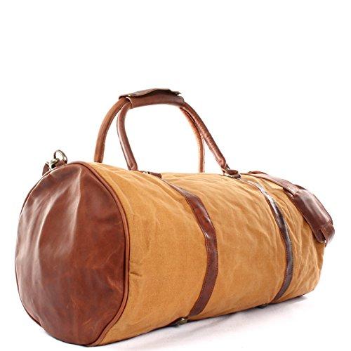 167bbdc4ec22 LECONI Reisetasche für Damen   Herren Ledertasche Weekender groß Sporttasche  Männer + Frauen Handgepäck Sporttasche echtes ...