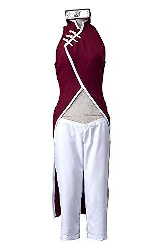o The Movie Cospaly Costume Haruno Sakura Outfit Set V5 (Naruto Cosplay Kostüme Uk)