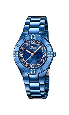 Lotus-Reloj de pulsera analógico para mujer cuarzo acero inoxidable 18247/2