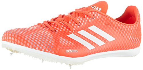 adidas Adizero Ambition 4, Scarpe da Trail Running Uomo, Rosso (Solar Red/ftwr White/core Black), 44 EU