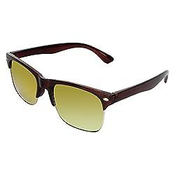 Zyaden Black Rectangle Unisex Sunglasses 166