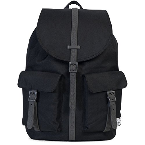 Herschel Supply Company Dawson Casual Tagesrucksack black/charcoal debossed rubber