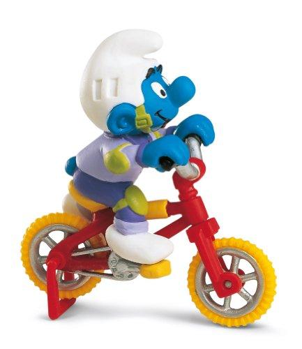 Imagen principal de Schleich 40252 Los Pitufos - Pitufo con bicicleta estática