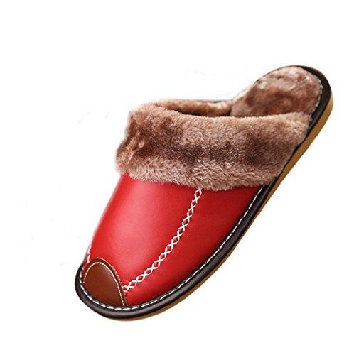 zapatillas-mujer-Sannysis-Rojo-Zapatillas-de-algodn