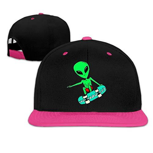 Osmykqe Green Alien Low Profile Baseball Caps Einstellbare Mütze - Sonnenschutz Green Low Profile Cap