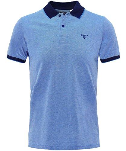 Gant Uomo camicia di polo di oxford a quattro colori M Blu