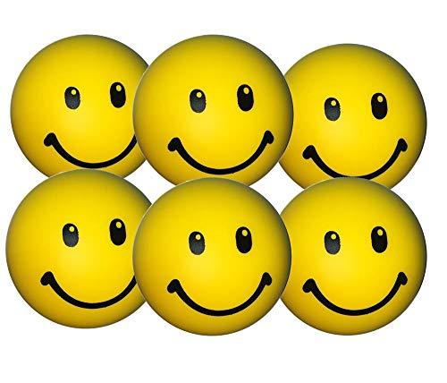 e - Smiley Stress Ball - Antistressball , Knautschball - Kleiner Ball, Grosse Stresserleichterung ()