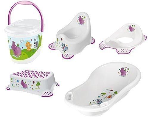 5er-set-hippo-weiss-badewanne-xxl-topf-wc-aufsatz-hocker-windeleimer