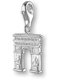 Melina Damen-Charm Anhänger Champs Elysees Paris 925 Sterling Silber 1800049