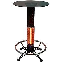 HotTable® mesa alta calefactora por infrarrojos de terraza exterior (Hostelería y Jardín)