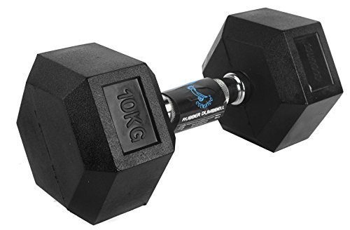 cac72e017d6 COCKATOO Rubber coated Professional Hex dumbbells Fixed Weight ...