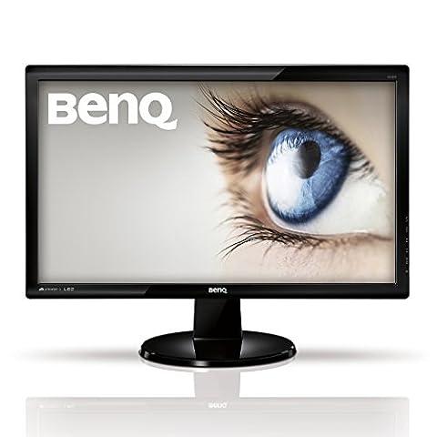 BenQ GL2250HM 54,6 cm (21,5 Zoll) Monitor (HDMI, DVI, VGA, 5ms Reaktionszeit, Lautsprecher) schwarz