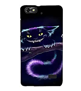 EPICCASE Scary Cat Mobile Back Case Cover For Huawei Honor 4C (Designer Case)