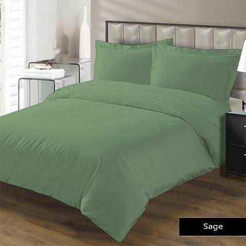 Almohada -2PC 550TC Italian acabado Sage Solid Color almohada de cuerpo entero Tamaño (32