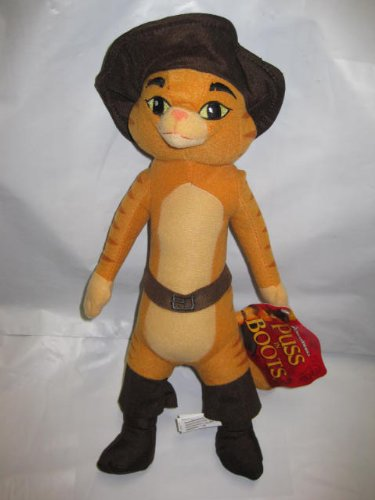 Shrek Movie 15 Puss in Boots Toy Plush