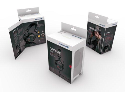 beyerdynamic Ohrpolstersatz (Kunstleder, geeignet für Custom One Pro Plus, Custom Studio und Custom Game) schwarz - 3