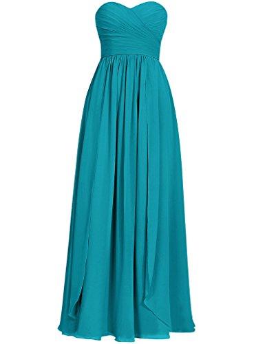 HUINI Damen Modern Kleid Jade