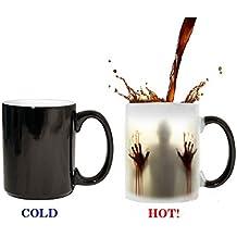 The Walking Dead Mug à changement de couleur sensible à la chaleur en céramique 311,8gram Mug à café cadeau surprise