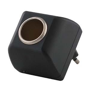 2 tech 220 volt auf 12 volt car adapter 90 240v. Black Bedroom Furniture Sets. Home Design Ideas