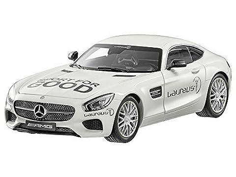 Mercedes-Benz, Mercedes-AMG GT S, Laureus designo diamant blanc lumineux, Norev, 1:18