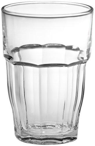 Bormioli Rocco Rock Bar 16-1/4-Ounce Stackable Beverage Glasses, Set of 6 by Bormioli Rocco Bormioli Rocco Rock Bar