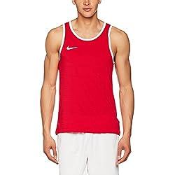 Nike M Nk Sl Crossover Camiseta sin Mangas de Baloncesto, Hombre, Rojo (University Red / University Red / White), XL