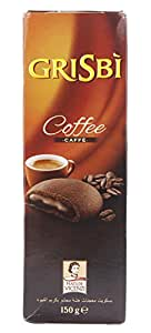 Grisbi Short Pastry Cookies Filled with Coffee Cream, 150g