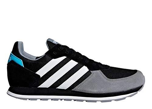 Adidas 8k, scarpe da fitness uomo, nero (negbás/ftwbla/gris 0), 44 eu