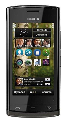 Nokia 500 Black Schwarz Smartphone Ohne Simlock