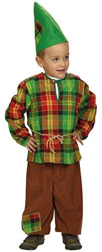 Zwergkostüm für Kinder Größe 152 für Karneval oder Fasching (152) (Zwerg Kostüm Für Jungen)