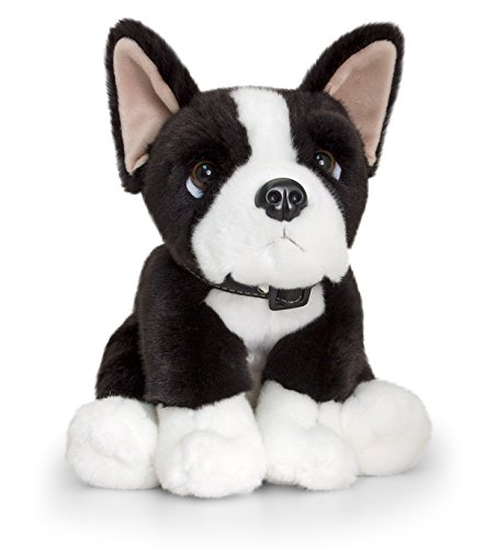 For Someone Very Special – Super Soft Plush 35cm Boston Terrier Soft Toy Dog – Best Seller Gift Present Idea For Just Because I Love You – Girl Girls Boy Boys Children Kids Child – Suitable For Age 3+