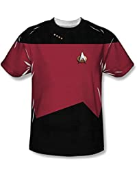 Star Trek - Mens Tng Command Uniform T-Shirt