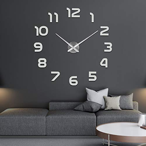 SOLEDI Mute DIY Reloj de Pared