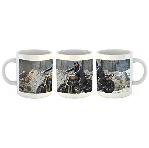 Unified Distribution The Walking Dead - Daryl Dixon - Norman Reedus - Tasse mit Motiv Bedruckt, 300ml C-Henkel. Tolles Geschenk für Büro, Küche, Geburtstag, Lieblingstasse zum Frühstück