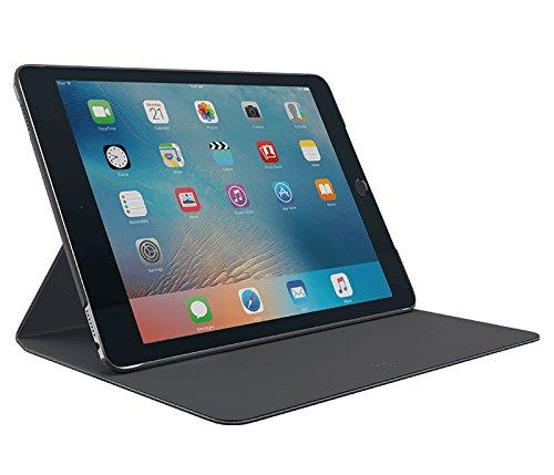 Logitech Scharnier Protective Slim Case mit Any-Angle Ständer für iPad Air 2 (A1566 / A1567) - Schwarz