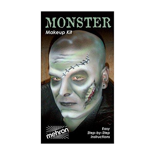 (3 Pack) mehron Character Makeup Kit - Monster