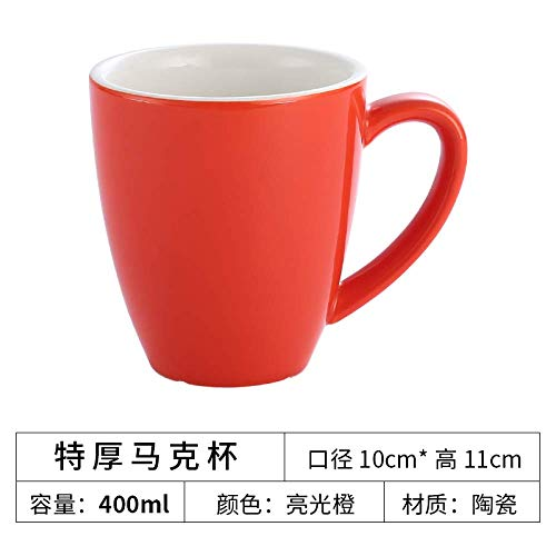 Porzellanbecher extra dicke europäische kleine Luxuskeramikbecher Hause Cappuccino Latte Kaffeetasse